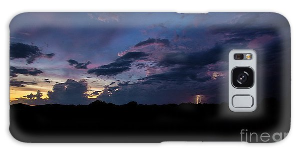 Lightning Sunset Galaxy Case
