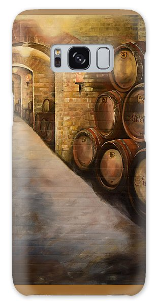 Lights In The Wine Cellar - Chateau Meichtry Vineyard Galaxy Case