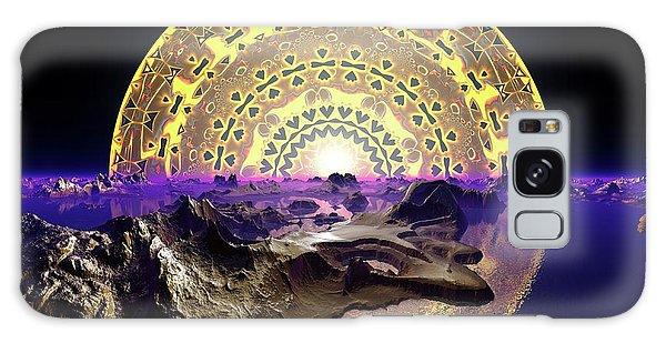 Galaxy Case featuring the digital art Lightscape 24 by Robert Thalmeier