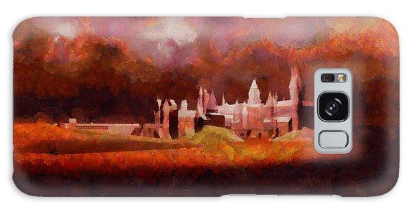 Anubis Galaxy Case - Like Hogwarts by Esoterica Art Agency