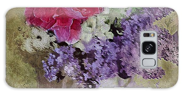 Lilac Bouquet Galaxy Case by Alexis Rotella