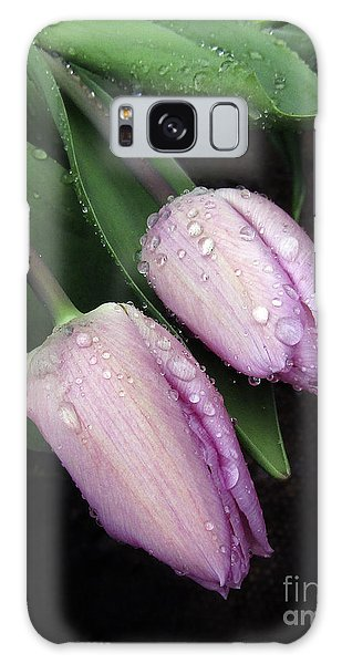 Lilac Drops Galaxy Case