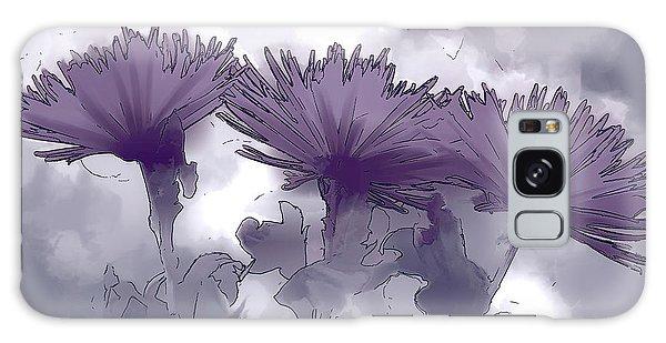 Lilac Fancy Galaxy Case