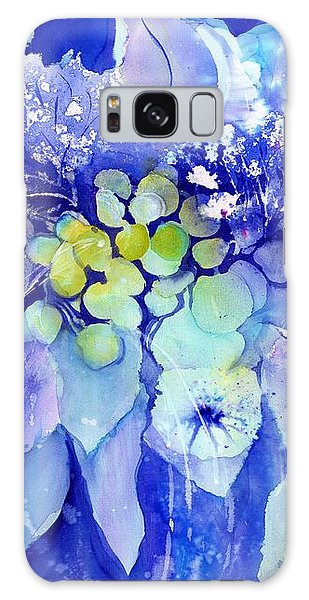 Lilac Flowers With Berries Galaxy Case