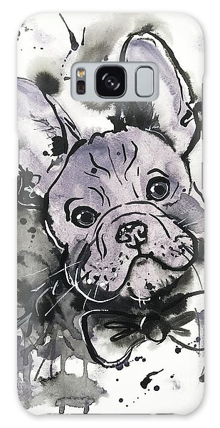 Lilac Frenchie Galaxy Case