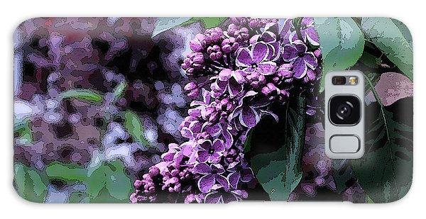 Lilac Heaven Galaxy Case