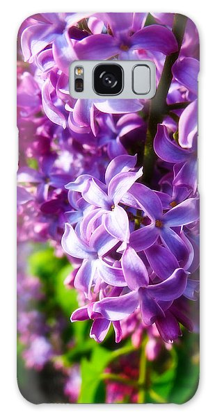 Lilac In The Sun Galaxy Case