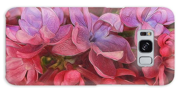 Lilac Blush Galaxy Case by Diane Alexander