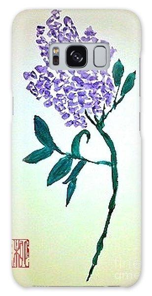 Lilac Galaxy Case