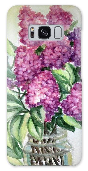 Lilac On The Kitchen Table Galaxy Case