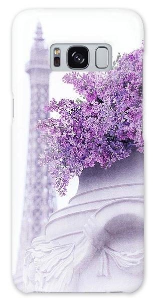Lilac Tales Galaxy Case by Iryna Goodall