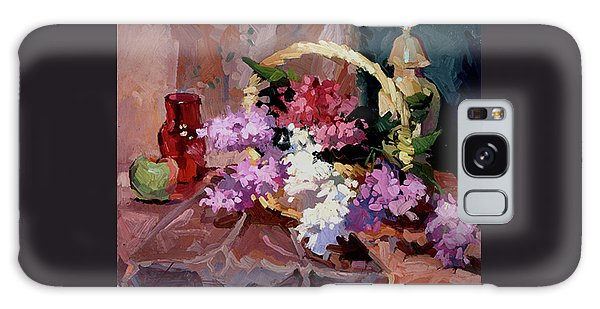 Lilacs Galaxy Case
