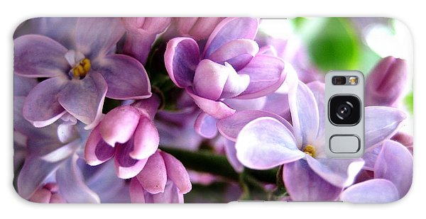 Lilacs Galaxy Case