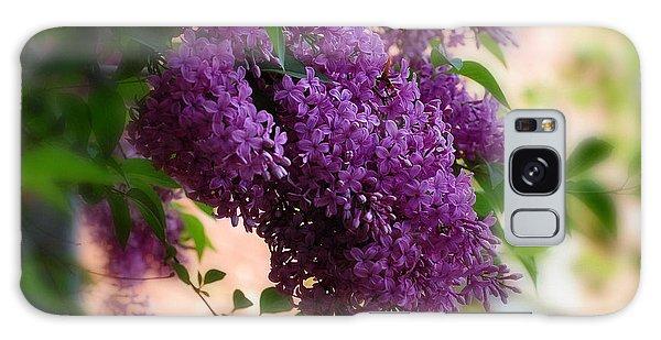 Lilacs Galaxy Case by Elaine Manley