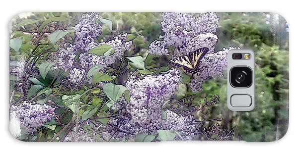 Galaxy Case - Lilacs  Fly Away by Rose Guay