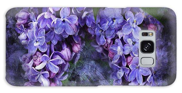 Lilacs Frenchy Scruff Galaxy Case
