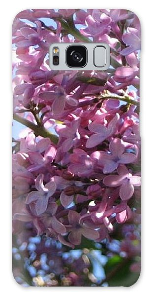 Lilacs In Bloom 2 Galaxy Case