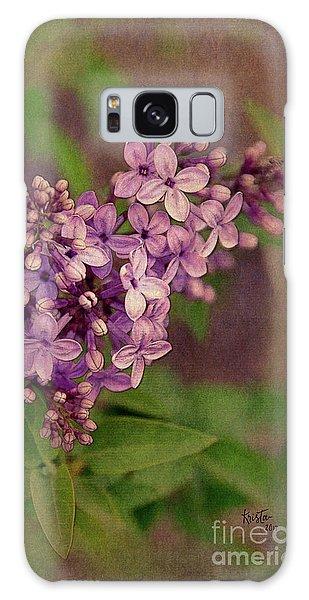 Lilacs Galaxy Case by Krista-