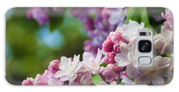 Lilacs Of Spring Galaxy Case by Joni Eskridge