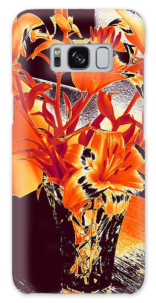 Lilies #2 Galaxy Case