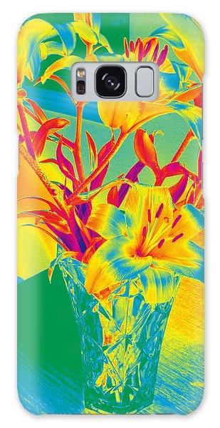 Lilies #3 Galaxy Case