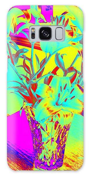 Lilies #4 Galaxy Case
