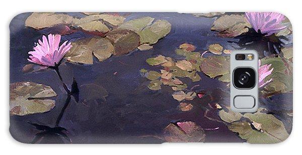 Lilies II - Water Lilies Galaxy Case
