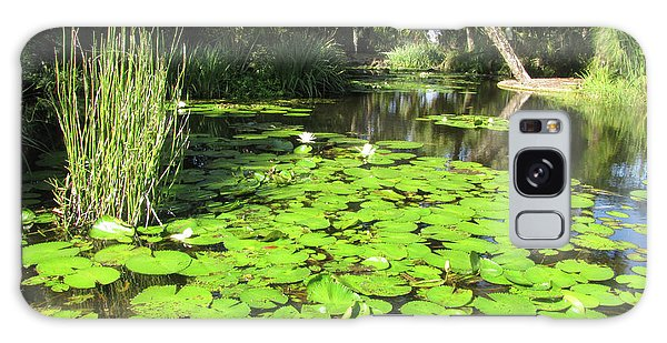 Lilies Of Bok Gardens Galaxy Case
