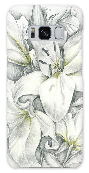 Lilies Pencil Galaxy Case