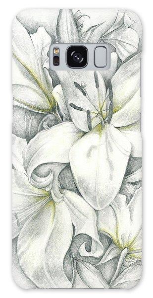 Lilies Pencil Galaxy Case