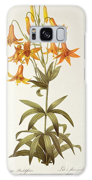 Lily Galaxy S8 Case - Lilium Penduliflorum by Pierre Joseph Redoute