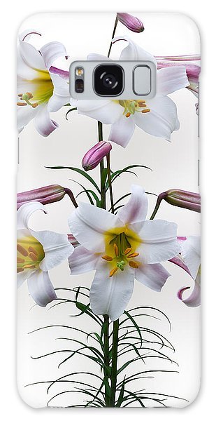 Lilium Regale Galaxy Case by Jane McIlroy