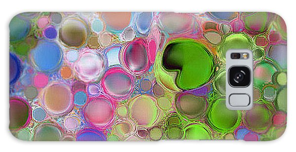 Lilly Pond Galaxy Case by Loxi Sibley