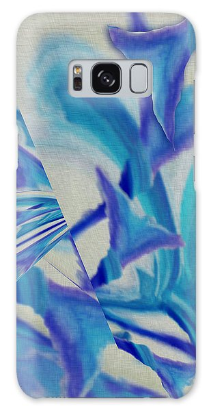 Lily Abstract #1 Galaxy Case