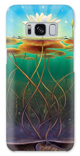 Water Lily - Transmute Galaxy Case
