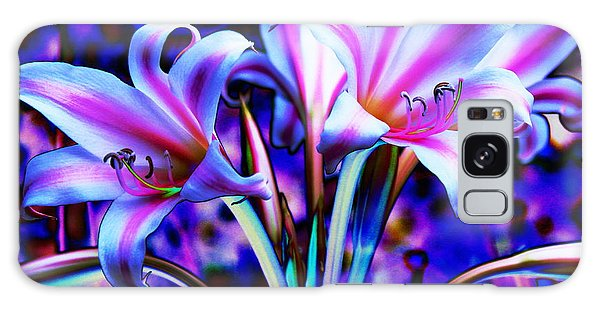 Lily Glow Abstract Galaxy Case by M Diane Bonaparte