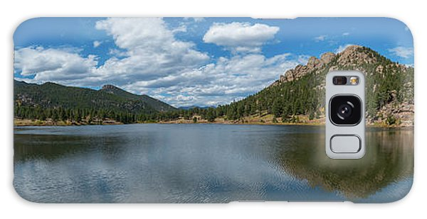 Lily Lake Panorama  Galaxy Case