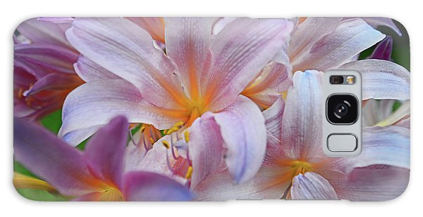 Lily Lavender Closeup Galaxy Case