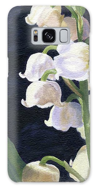 Lily Of The Valley Galaxy Case