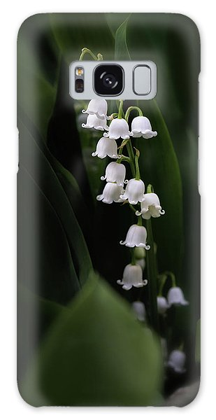 Lily Galaxy S8 Case - Lily Of The Valley by Tom Mc Nemar