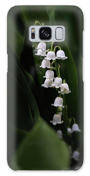 Lily Galaxy Case - Lily Of The Valley by Tom Mc Nemar