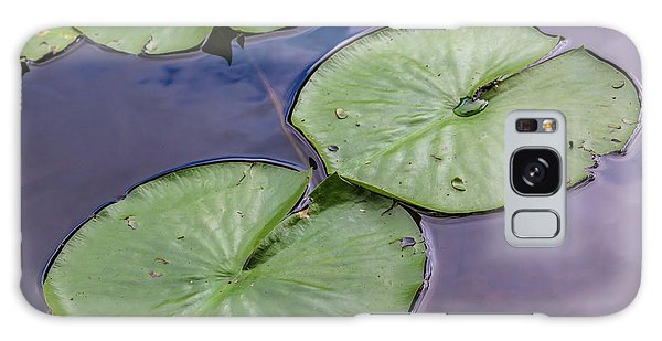 Lily Pad Reflections Galaxy Case