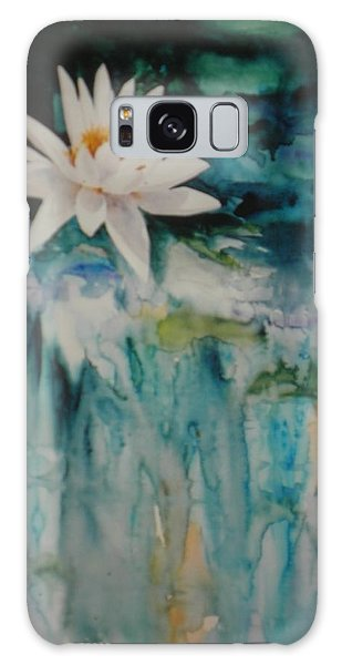 Lily Pond Galaxy Case
