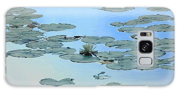 Lily Pond Galaxy Case by Daun Soden-Greene