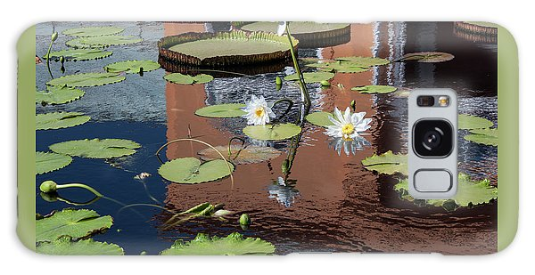 Lily Pond Reflections Galaxy Case by Suzanne Gaff