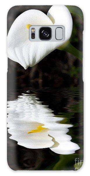 Lily Reflection Galaxy Case by Avalon Fine Art Photography