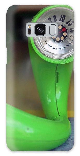 Lime Green Twisted Radio Galaxy Case