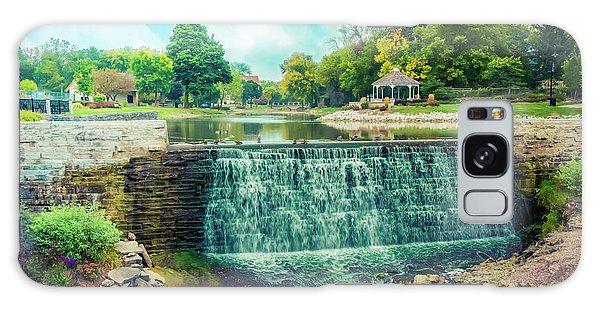 Lime Kiln Park Waterfall Galaxy Case