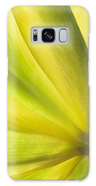 Lime Tulip Galaxy Case