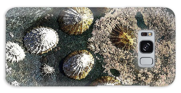 Galaxy Case featuring the digital art Limpets by Julian Perry